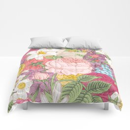 Beautiful meadow Comforters