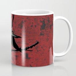 Crow Rust Industrial Red A673 Coffee Mug