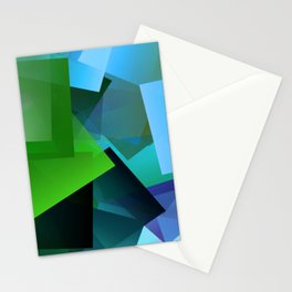 Leaves and light ... Stationery Cards
