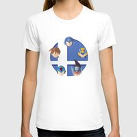 smash bros T-shirts featuring Megaman Smash Bros. by CmOrigins