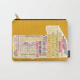 Life Path 1 (color background) Carry-All Pouch