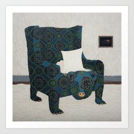 Polar Chair II Art Print
