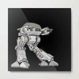 15 seconds to comply Metal Print