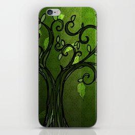 LEAVE - Summer Green iPhone Skin