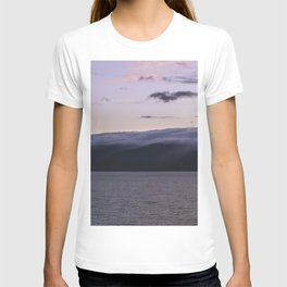 Sunset over Lake Baikal. T-shirt