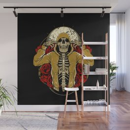 Hip Hop and Roses Wall Mural