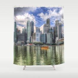 Singapore Marina Bay Sands Shower Curtain