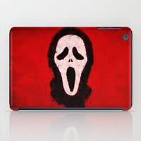 scream iPad Cases featuring Scream by Bill Pyle