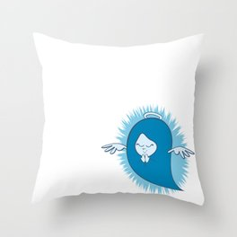 She's An Angel Throw Pillow