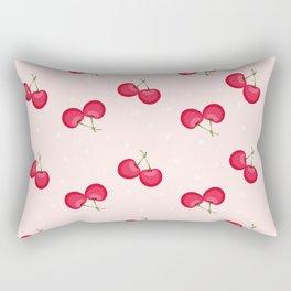 Sweet Cherries Unique Pattern Rectangular Pillow