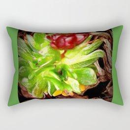 Surreal Succulent Rectangular Pillow