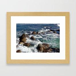 California Coast 01 Framed Art Print