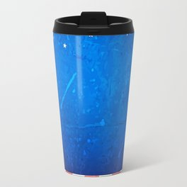 American background with space Travel Mug