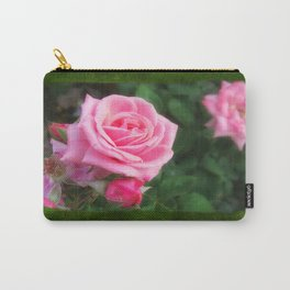 Pink Roses in Anzures 1 Blank P1F0 Carry-All Pouch