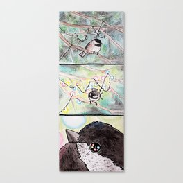 Bird no. 79: Wonder Canvas Print