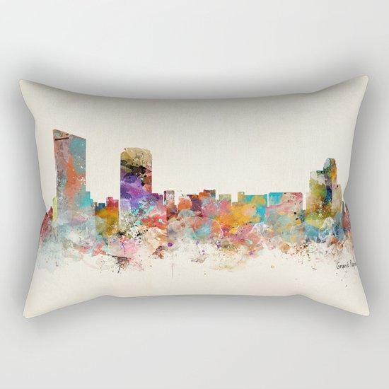 grand rapids michigan skyline Rectangular Pillow