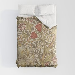 William Morris Golden Lily John Henry Dearle Comforters