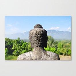 Borobudur Temple, Yogyakarta, Java, Indonesia Canvas Print
