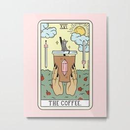 COFFEE READING UPDATED (LIGHT) Metal Print
