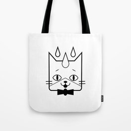head of a cat vector icon Tote Bag