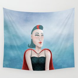 Dreamy Heroine Wall Tapestry