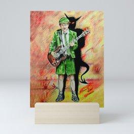 Back to Hell Mini Art Print