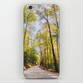Forest Road - Muir Valley, Kentucky iPhone Skin