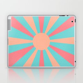 pink and peach sunshine Laptop & iPad Skin