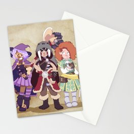 D&D Girls Stationery Cards