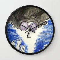 hippie Wall Clocks featuring Hippie by ArtAngel