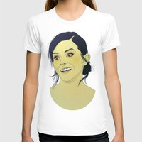 emma watson T-shirts featuring Emma Watson funny face by Esther Cerga