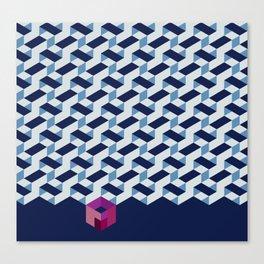 Modernist Weave Canvas Print