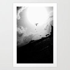 New Sun Art Print