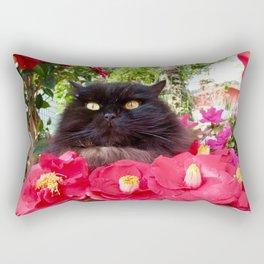 King of flowers  Pomponio Mela Rectangular Pillow