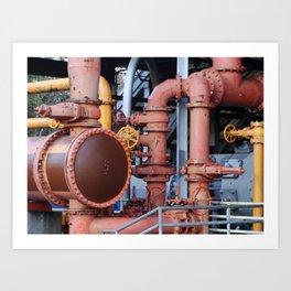 Gasworks Park - Seattle Washington Art Print