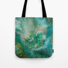 Dawning of a Galactic Planet Tote Bag
