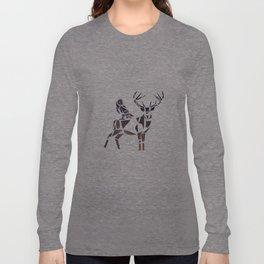 deer & owl Long Sleeve T-shirt
