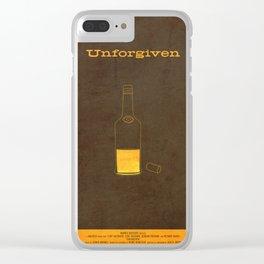 Unforgiven Clear iPhone Case