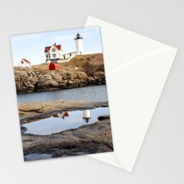 Nubble Light, York, Maine Stationery Cards