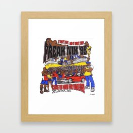 FREAKNIK Framed Art Print