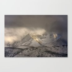 the mountain speaks to me Canvas Print