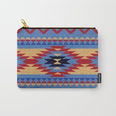 Aztec pattern Carry-All Pouch