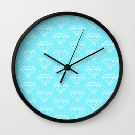 DIAMOND ((arctic)) Wall Clock