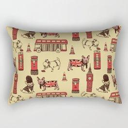 London Frenchies Rectangular Pillow
