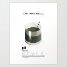 Sinatra Booze Art Print