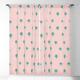 Summer forest pattern Blackout Curtain