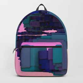Sci-fi Cubes Backpack