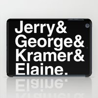 seinfeld iPad Cases featuring Seinfeld Jetset by Bill Pyle