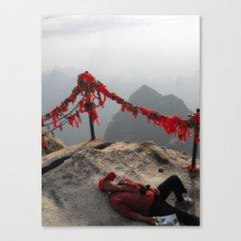 La Siesta Peligrosa Canvas Print