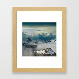 Mountain Sound Framed Art Print